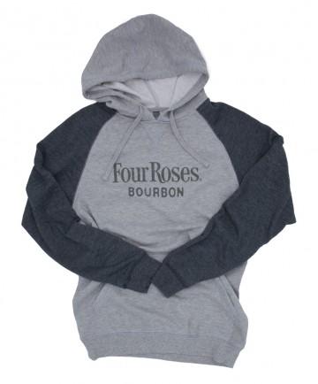 3XL Mens Fleece Raglan Hoodie