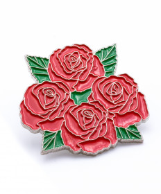 Four Roses Lapel Pin