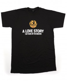 "130th Anniversary Tee ""A Love Story"" 2XL"