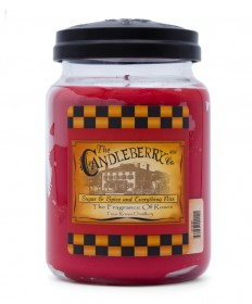 Four Roses Candleberry Rose Candle Jar 26 oz.