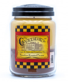 Candleberry Bourbon roasted Pecan Candle
