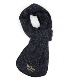Four Roses Knit Scarf