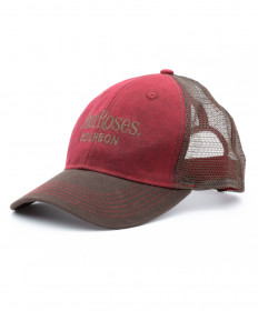 Four Roses Mesh Construction Cap