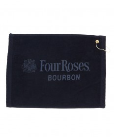 Four Roses Golf Towel