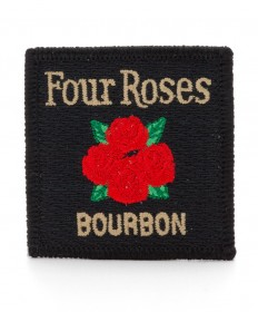 Four Roses Embroidered Emblem
