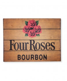 Four Roses Wood Pub Sign