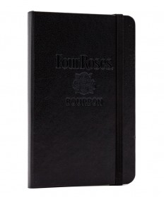 Four Roses Leather Debossed Journal