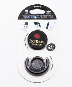 Four Roses Pop Socket With Car Mount