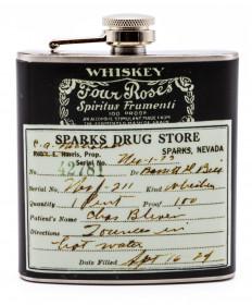 Four Roses Prescription Flask