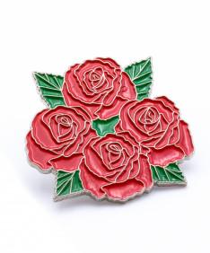 Four Roses Lapel Pin