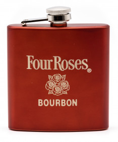 Four Roses Red Flask