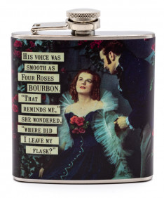 Four Roses Moonlight Flask