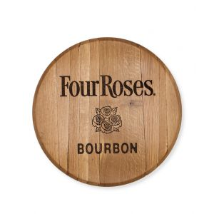 Four Roses Laser Logo Barrel Head