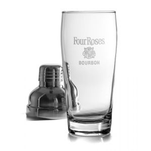 Four Roses Stainless Steel Cocktail Shaker