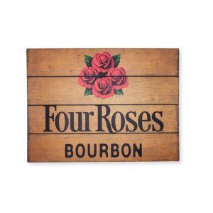Four Roses Wood Pub Sign
